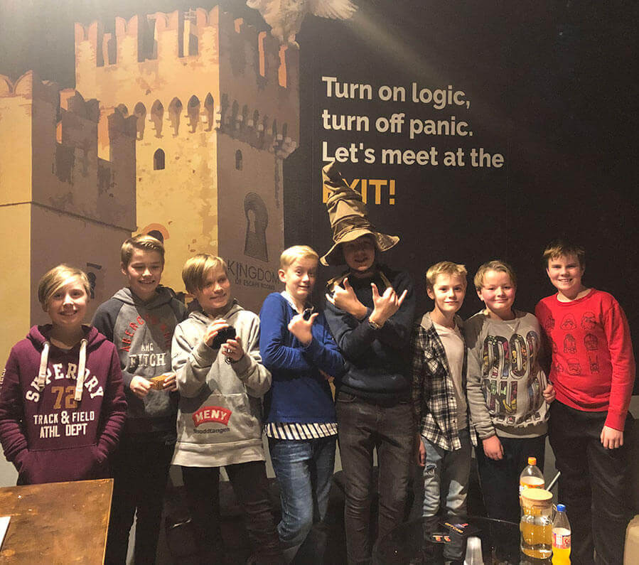 2barnebursdag kingdom of Escape Room min